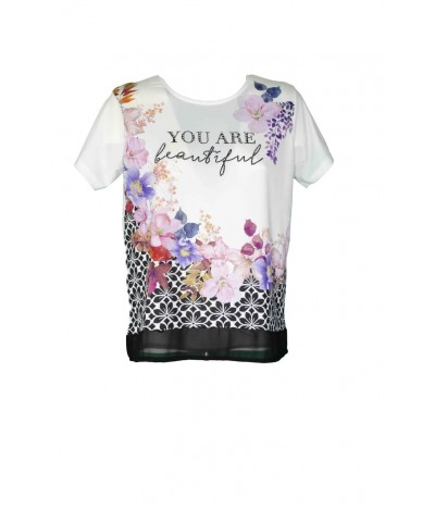 T-shirt You Are Beautiful 1287 Maglieria e T-shirt donna Mythical MYTH1287 19,90€